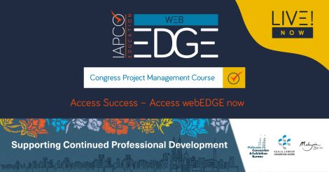 webEDGE - the IAPCO online learning platform image