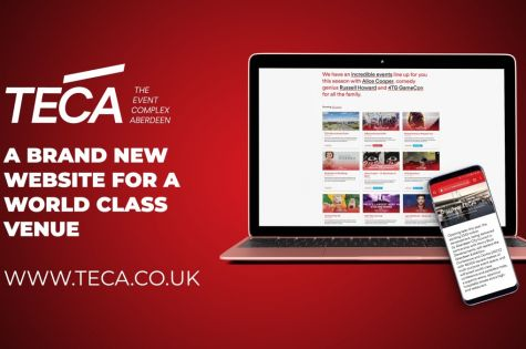 Brand new venue TECA launches website image