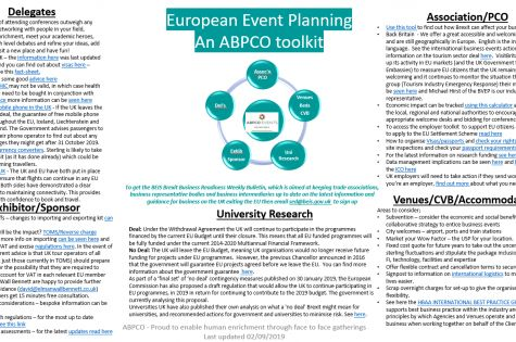European Event Planning - an ABPCO toolkit image