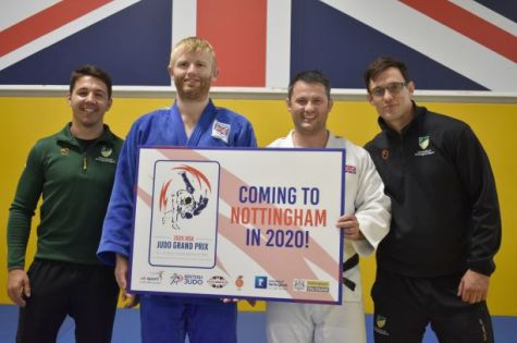 British Judo to host Visually Impaired Grand Pix at University of Nottingham  image