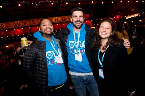 One Young World Volunteers Shine in London image