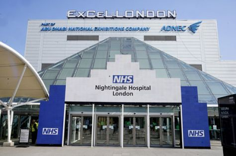 ExCeL to become temporary new NHS Nightingale Hosp image