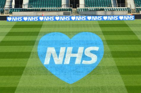 Twickenham Stadium Shows Support for NHS image