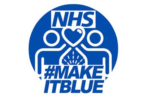 #makeitblue campaign Update image