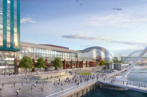 Planning submitted for Gateshead Quays arena-led s image