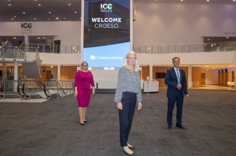 ICC Wales selected to host the Conservative Party  image