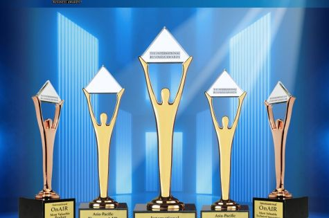 EventsAIR Wins Gold Stevie Award for its event man image