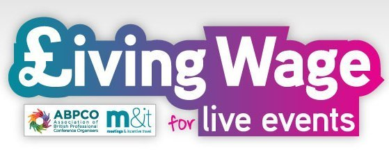 M&IT and ABPCO launch Living Wage for Live Events  header internal