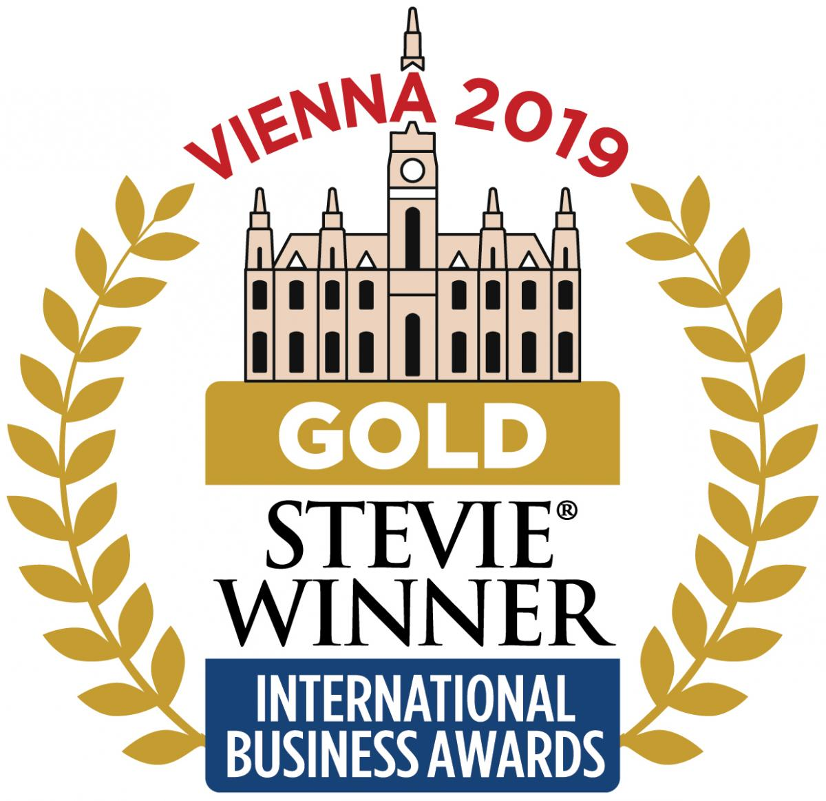 EVENTSAIR WINS GOLD STEVIE® AWARD  header internal
