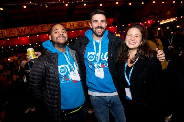One Young World Volunteers Shine in London header internal
