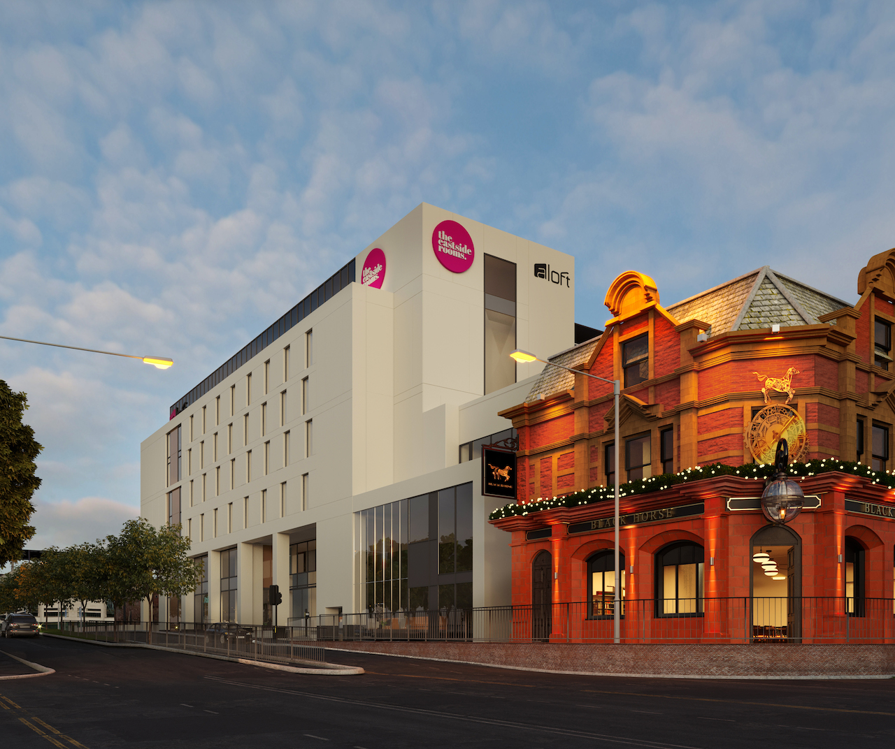 the eastside rooms to Target Association Business header internal