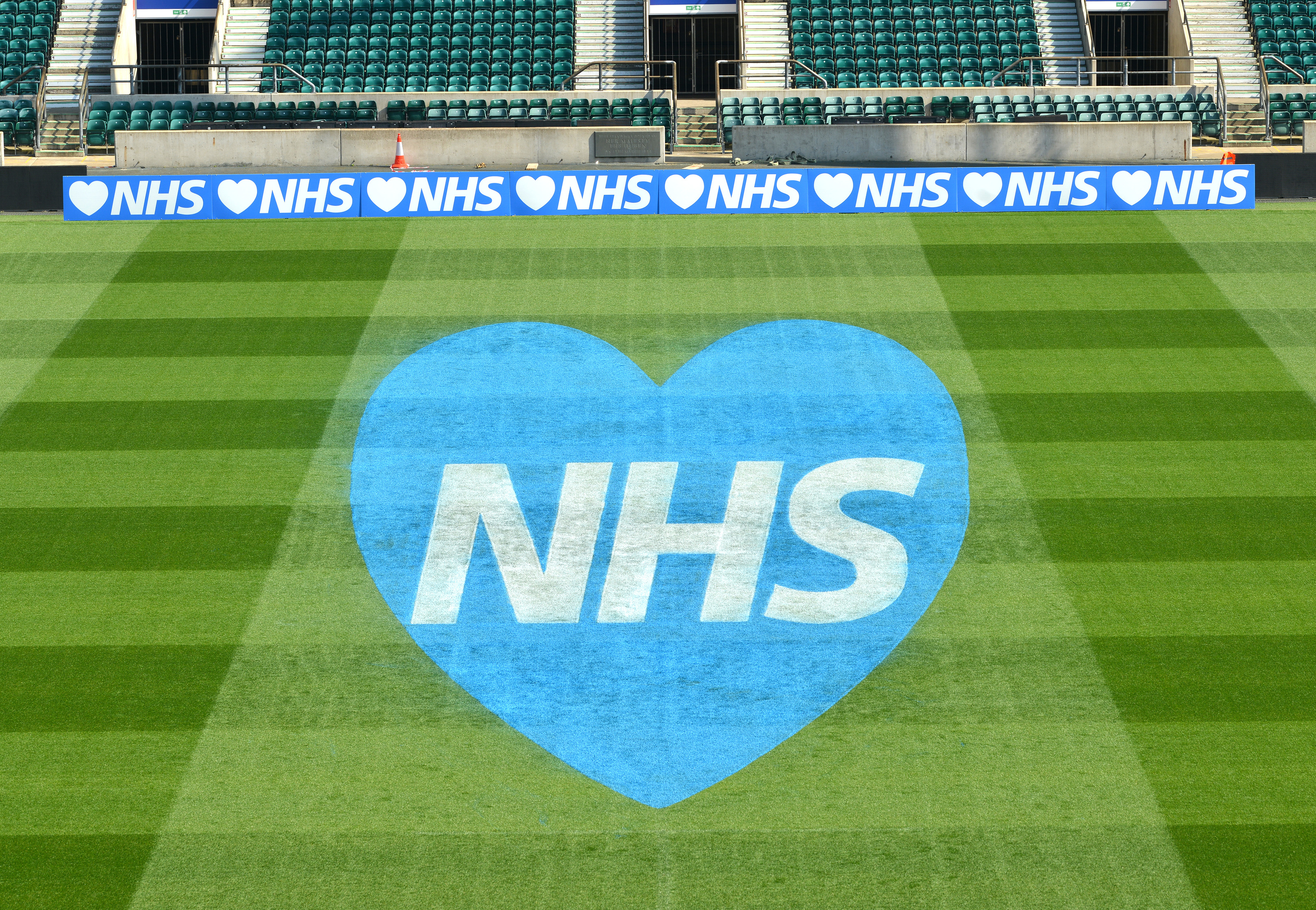 Twickenham Stadium Shows Support for NHS header internal
