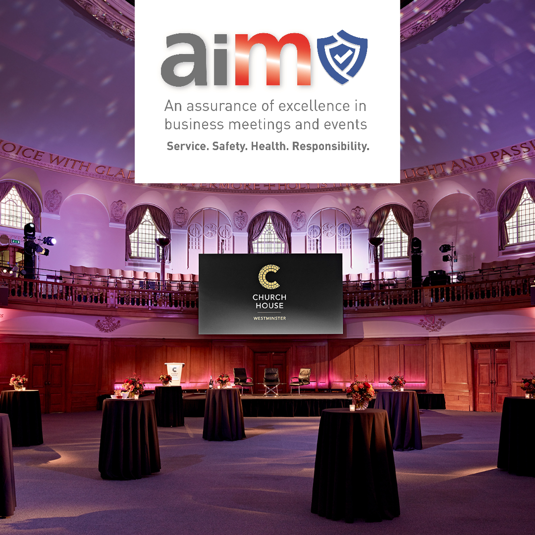 CHURCH HOUSE WESTMINSTER ACHIEVES AIM SECURE ACCRE header internal