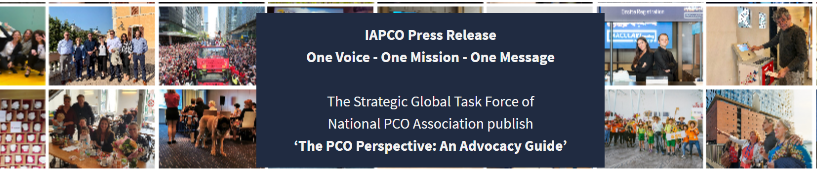 The Strategic Global Task Force of National PCO As header internal